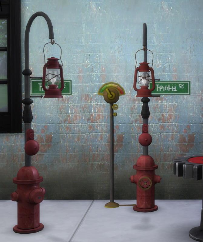 Joshs Hydrant Lights by BigUglyHag at SimsWorkshop image 1224 670x798 Sims 4 Updates