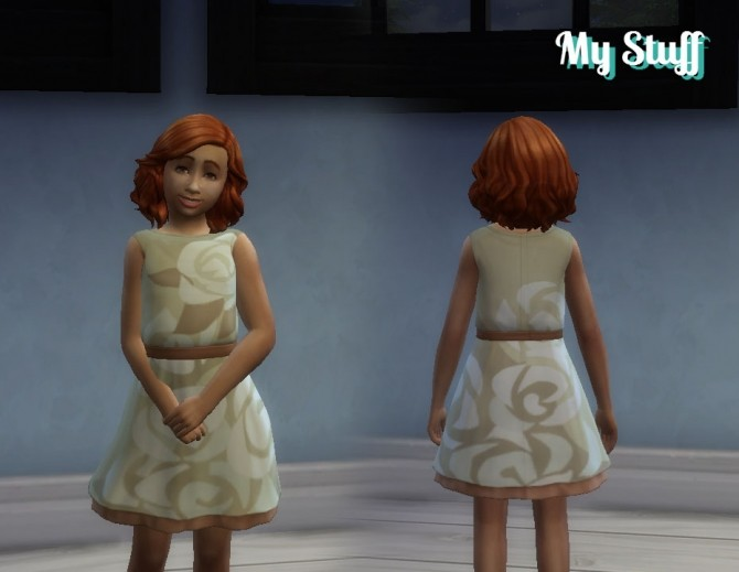 Dress Boat Neck for Girls by Kiara Zurk at My Stuff image 1238 670x519 Sims 4 Updates