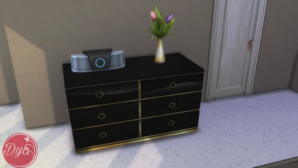 Black And Gold Bedroom By Dyokabb At Les Sims4 Sims 4 Updates