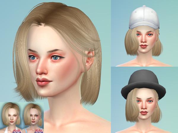 Katheryn Hair 19 Set by TsminhSims at TSR image 1257 Sims 4 Updates