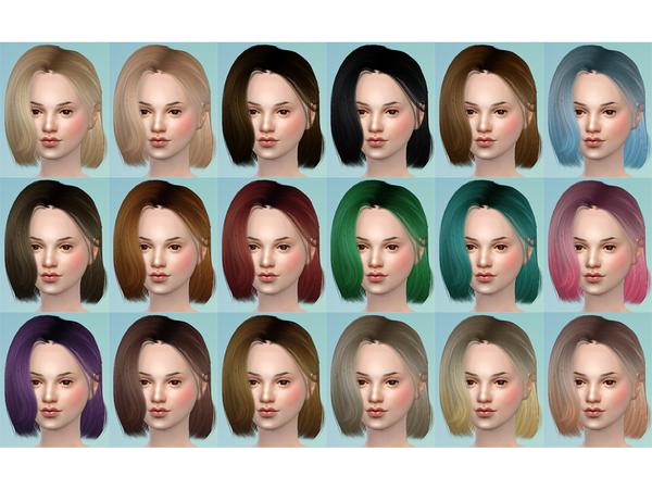 Katheryn Hair 19 Set by TsminhSims at TSR image 1267 Sims 4 Updates