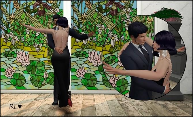 Sims 4 Waltz dance poses at Rethdis love