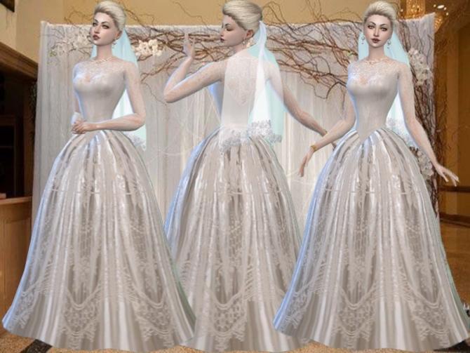 Wedding Dress At Trudie55 187 Sims 4 Updates