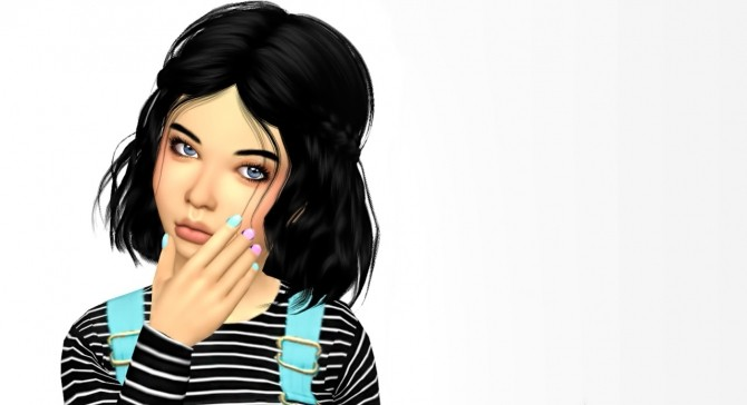 LeahLillith Soundwave Hair Kids Version at Simiracle image 1302 670x364 Sims 4 Updates