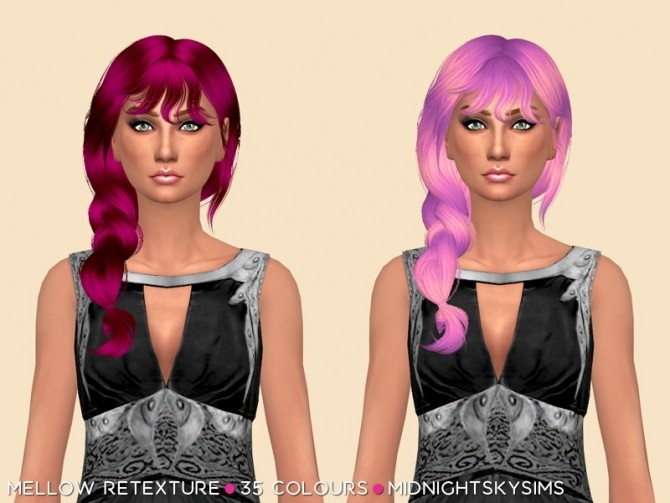 Mellow Unnatural Hair Retexture by midnightskysims at SimsWorkshop image 1317 670x503 Sims 4 Updates