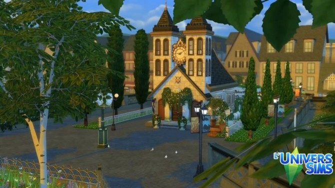 Sims 4 Windenburg chapel by chipie cyrano at L'UniverSims