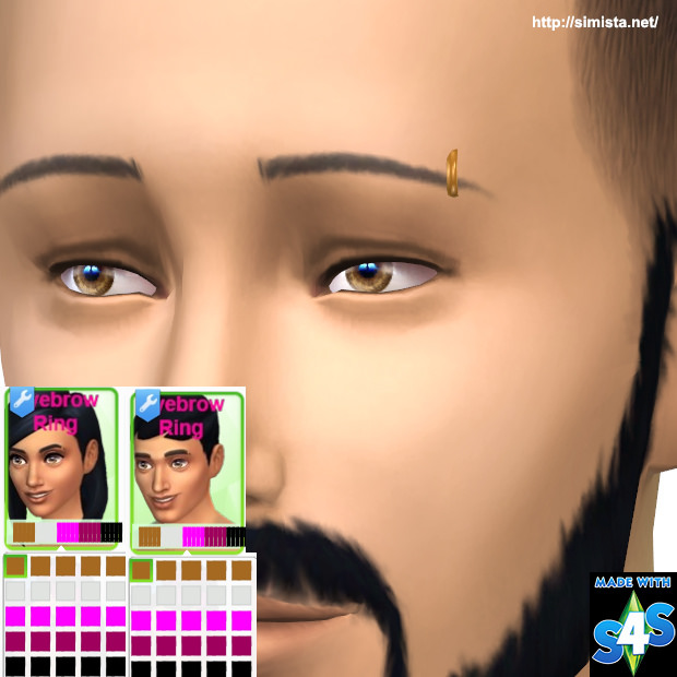 EyeBrow Piercing at Simista image 1339 Sims 4 Updates
