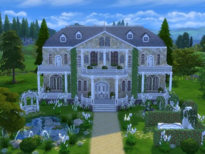 Luxury Mansion NO CC at Tatyana Name image 1345 670x503 Sims 4 Updates