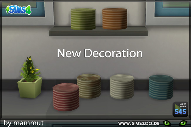 Sims 4 Plates by mammut at Blacky's Sims Zoo