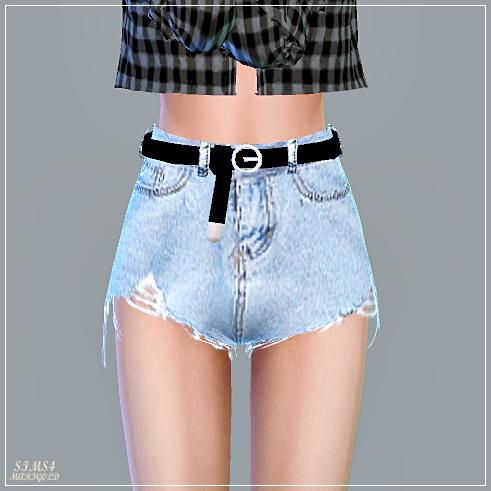 Alpha Belt Hot Pants at Marigold image 13810 Sims 4 Updates