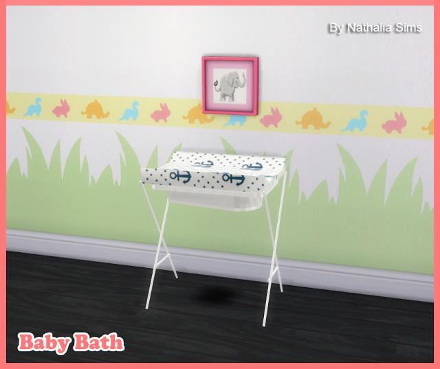 Sims 4 Baby Bath at Nathalia Sims