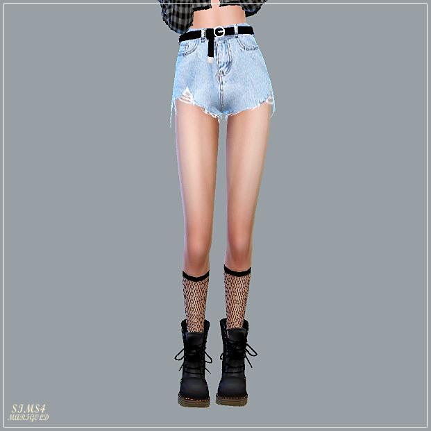 Alpha Belt Hot Pants at Marigold image 13910 Sims 4 Updates