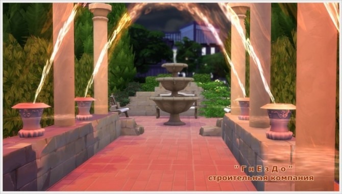 Rear patio garden 02 at Sims by Mulena image 1405 670x381 Sims 4 Updates