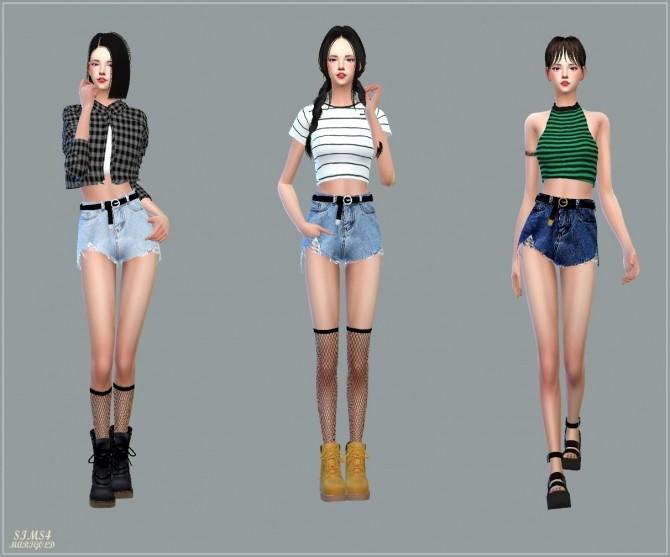 Alpha Belt Hot Pants at Marigold image 1408 670x557 Sims 4 Updates