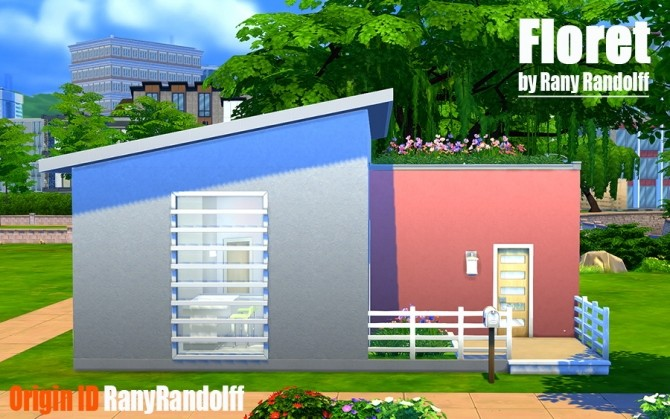 Floret house by Rany Randolff at ihelensims image 14214 670x419 Sims 4 Updates