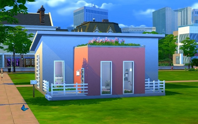 Floret house by Rany Randolff at ihelensims image 14311 670x419 Sims 4 Updates