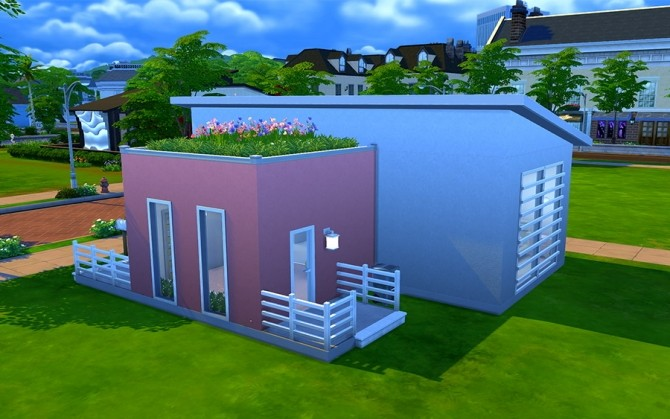 Floret house by Rany Randolff at ihelensims image 14412 670x419 Sims 4 Updates