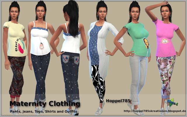 Maternity Clothing at Hoppel785 image 145 Sims 4 Updates