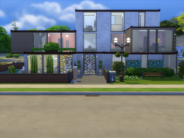 Luxus Modern House by Blackbeauty583 at Beauty Sims image 147 Sims 4 Updates