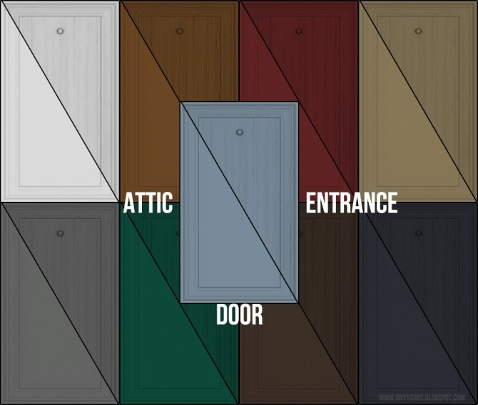 Attic Entrance Door at Onyx Sims image 14711 670x568 Sims 4 Updates