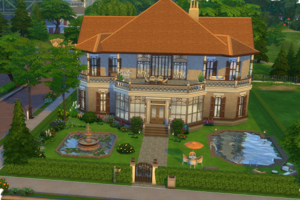 Sims 4 Noblesse house 2 by Blackbeauty583 at Beauty Sims
