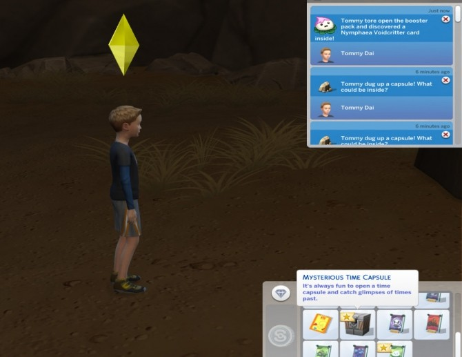 Sims 4 Voidcritters In Time Capsules by Shimrod101 at Mod The Sims