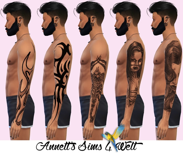 Arm Tattoos for Men at Annett's Sims 4 Welt image 15011 Sims 4 Updates