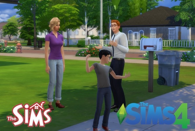 Sims 1 to 4 Jones Family by Sortyero29 at Mod The Sims image 151 670x449 Sims 4 Updates