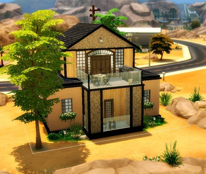 Simply Modern Home at Simelicious image 15112 670x566 Sims 4 Updates