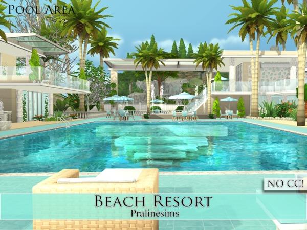Beach Resort by Pralinesims at TSR image 1518 Sims 4 Updates