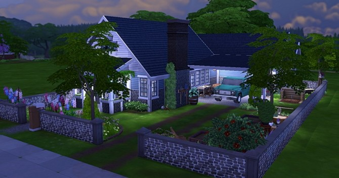 Zeno house by Chanchan24 at Sims Artists image 1535 670x353 Sims 4 Updates