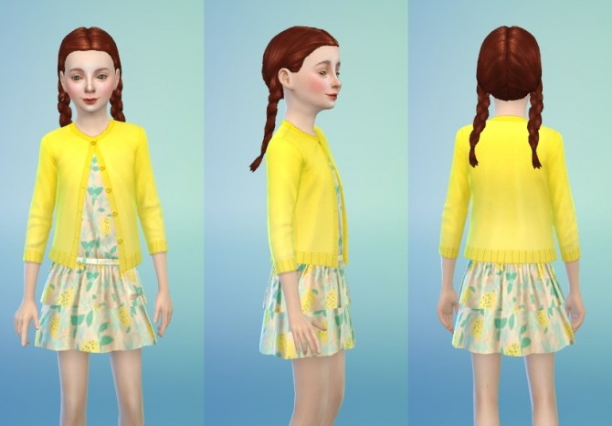 Dress 04 Lime Print Child at Sutta Sims4 image 1553 670x466 Sims 4 Updates