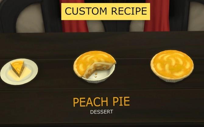 Sims 4 Peach Pie by icemunmun at Mod The Sims