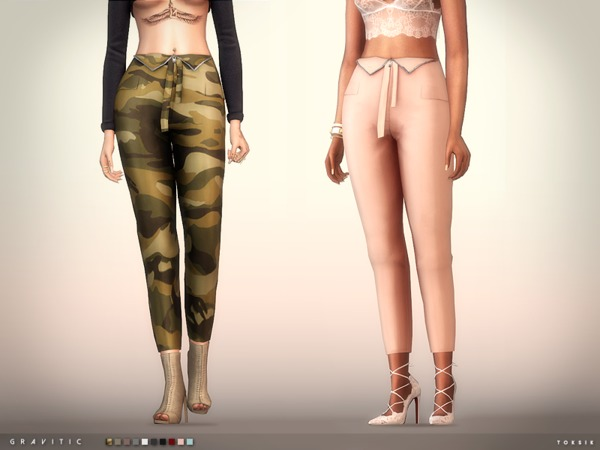 Gravitic Pants By Toksik At Tsr 187 Sims 4 Updates