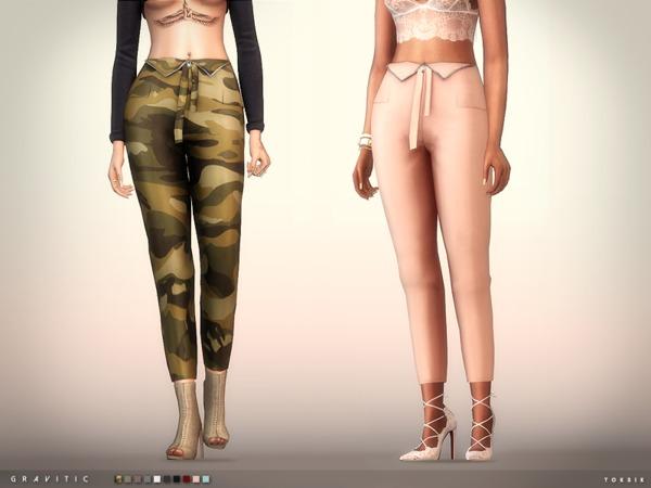 Sims 4 Gravitic Pants by toksik at TSR
