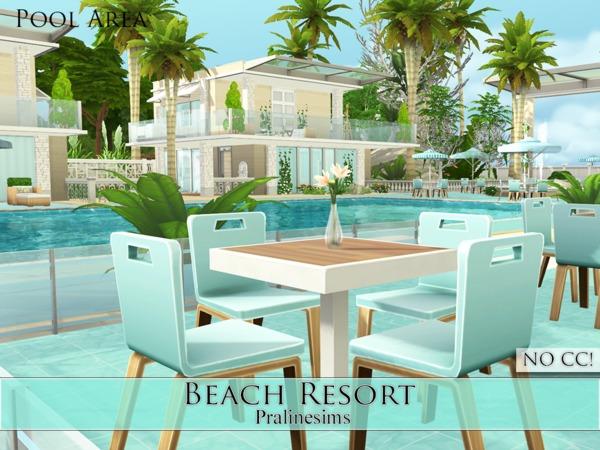 Beach Resort by Pralinesims at TSR image 1619 Sims 4 Updates