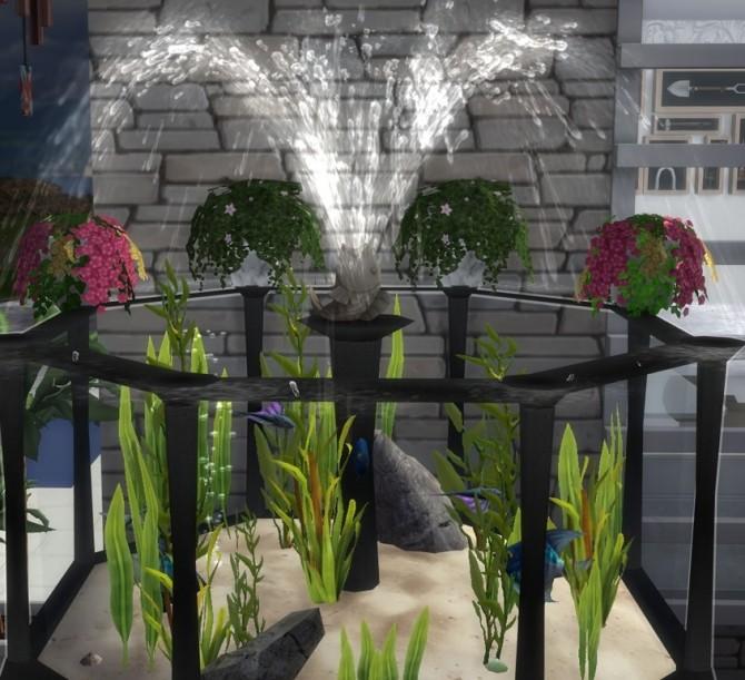 Sims 4 Summer Garden Tank (Iron) at Sims 4 Studio