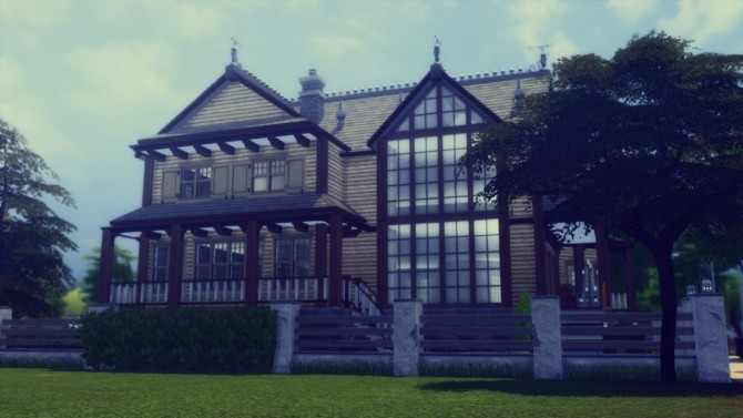 Sims 4 Polish House from Zakopane at dw62801