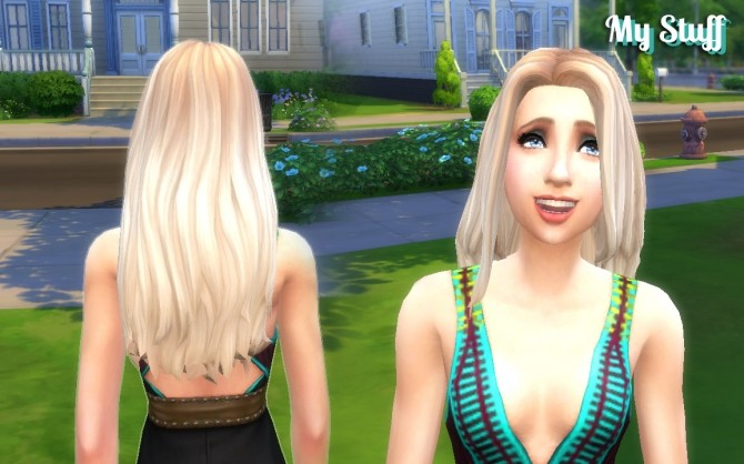 Gorgeous Hair Ombre by Kiara at My Stuff » Sims 4 Updates