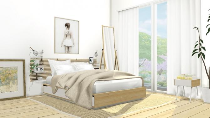 Mandal Bedroom Set At Mxims 187 Sims 4 Updates