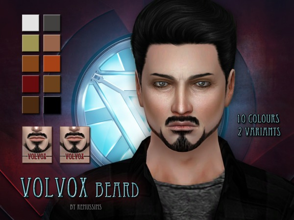 Volvox Beard By Remussirion At Tsr Sims 4 Updates