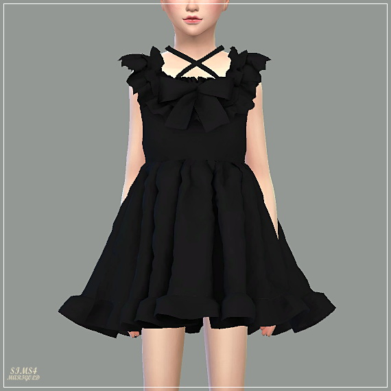Child Pure Doll Dress at Marigold image 17410 Sims 4 Updates
