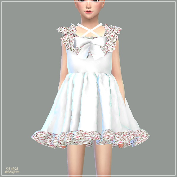 Child Pure Doll Dress at Marigold image 17510 Sims 4 Updates