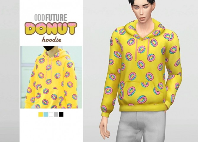 Odd Future Donut Hoodie at Waekey image 1761 670x479 Sims 4 Updates