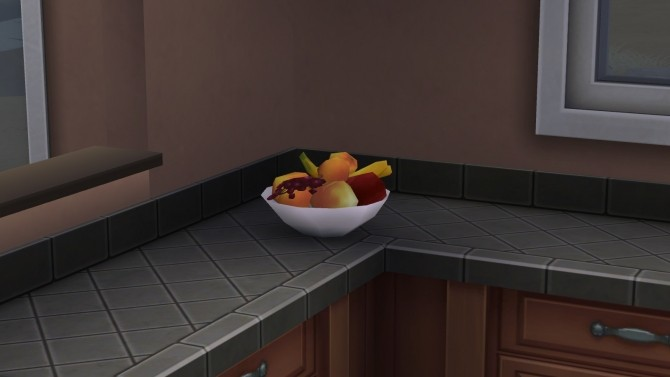 Sims 4 Inspirational Bowl of Fruit by That Jasper at Mod The Sims