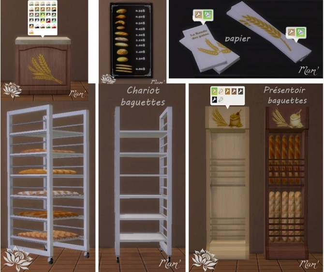 Bakery equipment by Maman Gateau at Sims Artists image 1792 670x561 Sims 4 Updates