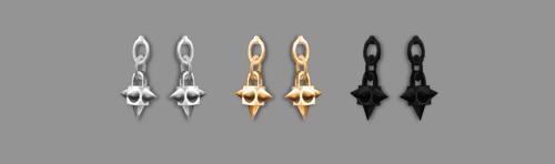 Sims 4 Earrings 02 at SAC