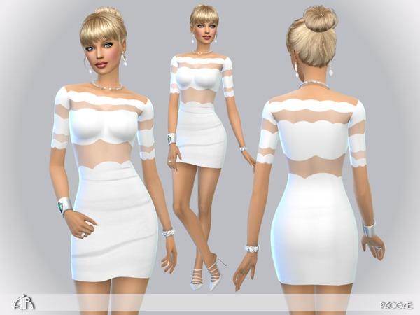 Sims 4 Air mini dress by Paogae at TSR