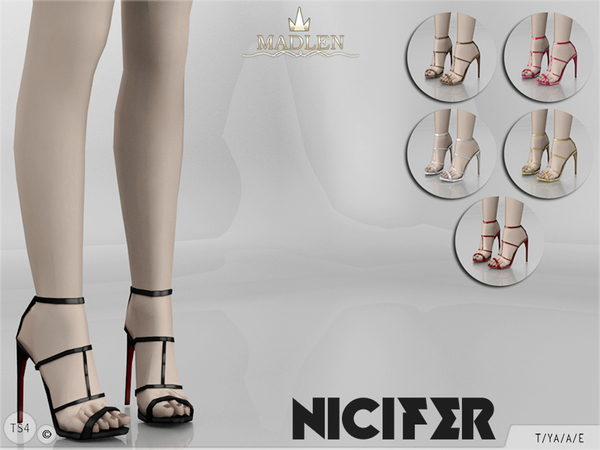 Madlen Nicifer Shoes by MJ95 at TSR image 1835 Sims 4 Updates