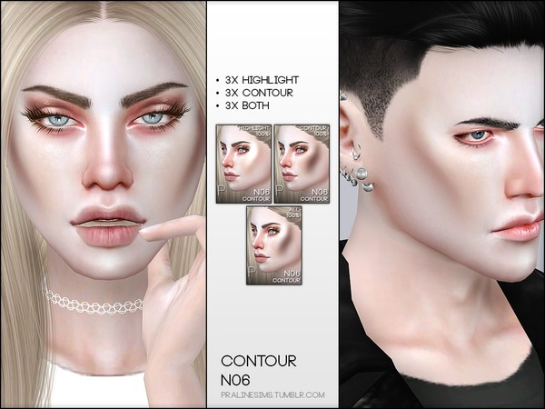 Skin Detail Kit N07 by Pralinesims at TSR image 1866 Sims 4 Updates